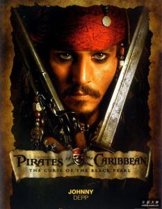 4- Pirates of the Carribbean - Curse of the Black Pearl