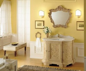 yellow-bathroom-ideas-classic
