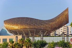 2 OLYMPIC FISH PAVILION – BARCELONA