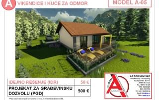 MODEL A-05, gotovi projekti vec od 50e, projekti, projektovanje, izrada projekata, house design, house ideas, house plans, interior design plans, house designs, house