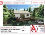 MODEL A-06, gotovi projekti vec od 50e, projekti, projektovanje, izrada projekata, house design, house ideas, house plans, interior design plans, house designs, house