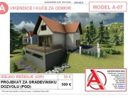 MODEL A-07, gotovi projekti vec od 50e, projekti, projektovanje, izrada projekata, house design, house ideas, house plans, interior design plans, house designs, house