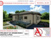 MODEL B-05, gotovi projekti vec od 50e, projekti, projektovanje, izrada projekata, house design, house ideas, house plans, interior design plans, house designs, house