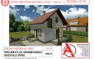 MODEL D-01, gotovi projekti vec od 50e, projekti, projektovanje, izrada projekata, house design, house ideas, house plans, interior design plans, house designs, house