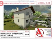 MODEL D-04, gotovi projekti vec od 50e, projekti, projektovanje, izrada projekata, house design, house ideas, house plans, interior design plans, house designs, house