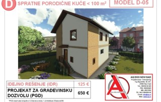 MODEL D-05, gotovi projekti vec od 50e, projekti, projektovanje, izrada projekata, house design, house ideas, house plans, interior design plans, house designs, house