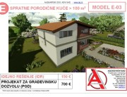 MODEL E-03, gotovi projekti vec od 50e, projekti, projektovanje, izrada projekata, house design, house ideas, house plans, interior design plans, house designs, house