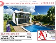 MODEL E-09, gotovi projekti vec od 50e, projekti, projektovanje, izrada projekata, house design, house ideas, house plans, interior design plans, house designs, house