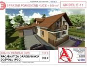 MODEL E-11, gotovi projekti vec od 50e, projekti, projektovanje, izrada projekata, house design, house ideas, house plans, interior design plans, house designs, house