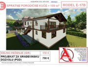 MODEL E-17B, gotovi projekti vec od 50e, projekti, projektovanje, izrada projekata, house design, house ideas, house plans, interior design plans, house designs, house