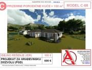 MODEL C-08, gotovi projekti vec od 50e, projekti, projektovanje, izrada projekata, house design, house ideas, house plans, interior design plans, house designs, house