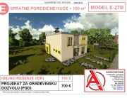 MODEL E-27B, gotovi projekti vec od 50e, projekti, projektovanje, izrada projekata, house design, house ideas, house plans, interior design plans, house designs, house