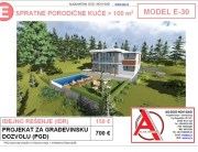 MODEL E-30, gotovi projekti vec od 50e, projekti, projektovanje, izrada projekata, house design, house ideas, house plans, interior design plans, house designs, house
