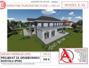 MODEL E-32, gotovi projekti vec od 50e, projekti, projektovanje, izrada projekata, house design, house ideas, house plans, interior design plans, house designs, house