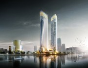 aedas-zhuhai-hengqin-headquarters-complex-dragon-towers-china-designboom-03