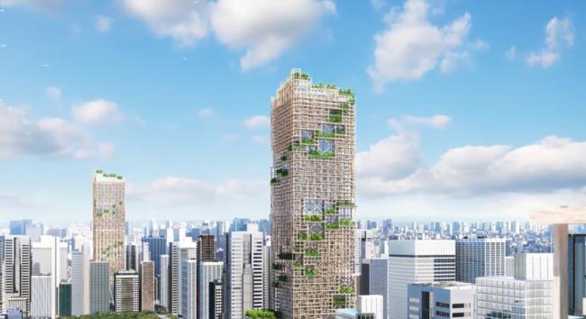 Najviši drveni neboder na svetu u Tokiju planiran za 2041. godinu