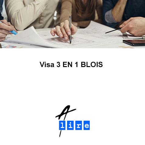 VISA 3 EN 1 BLOIS
