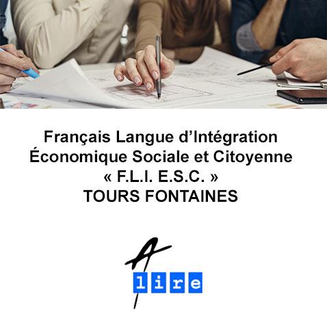 formation langue d'intégration économique sociale et citoyenne TOURS