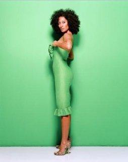 tracee green dress