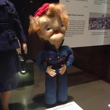 A... Rosie the Riveter doll?