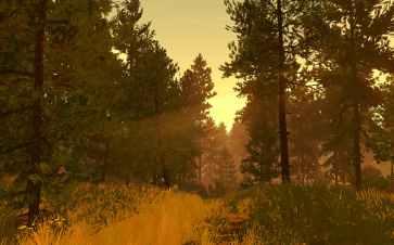 Firewatch scenery