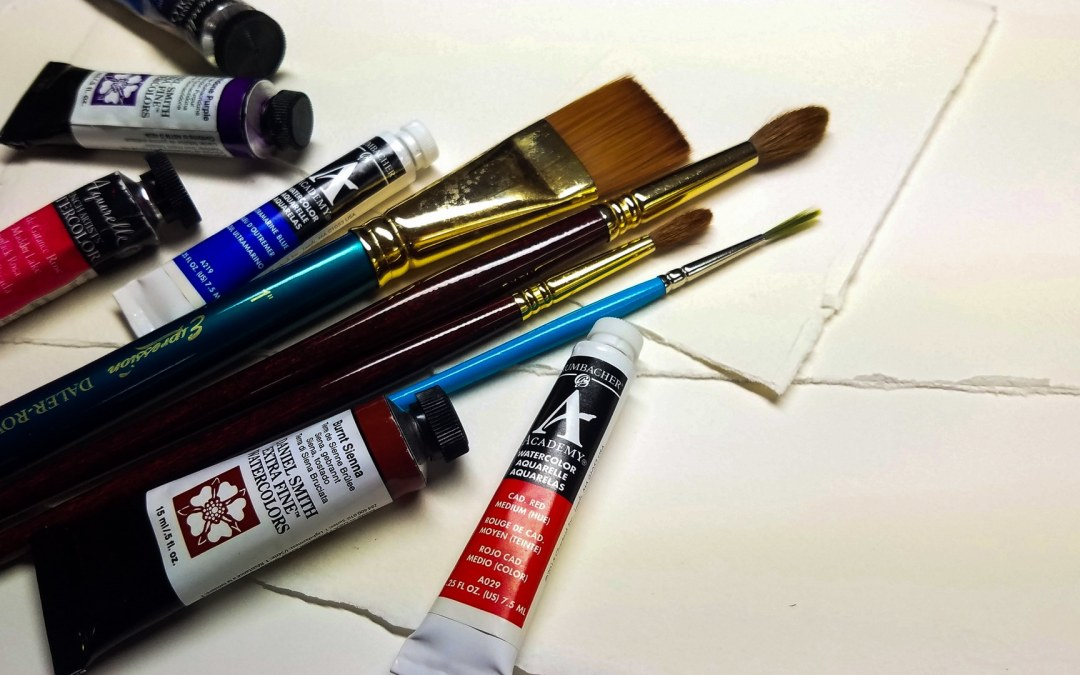 Watercolor For Beginners : Supplies