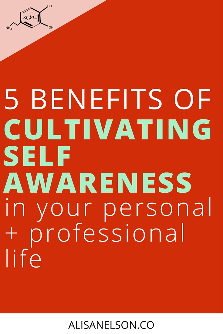 Self-awareness and mindfulness are more than just feel-good. They change your brain + the way you respond in the moment to setbacks and uncertainty. Read on for 5 benefits of cultivating self-awareness in your personal + business life. More at: http://alisanelson.co