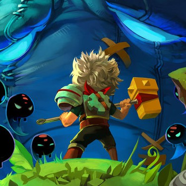 Bastion concept art by Jen Zee of SuperGiant Games (cropped)