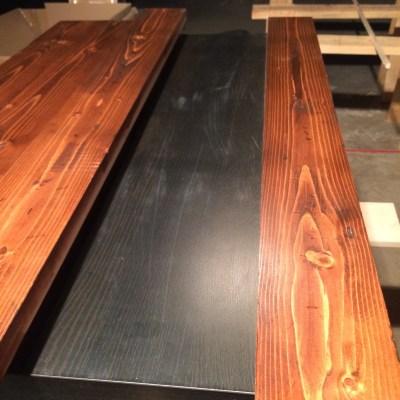 glue on table 2