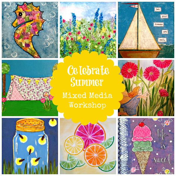 Celebrate SummerCollage - 600