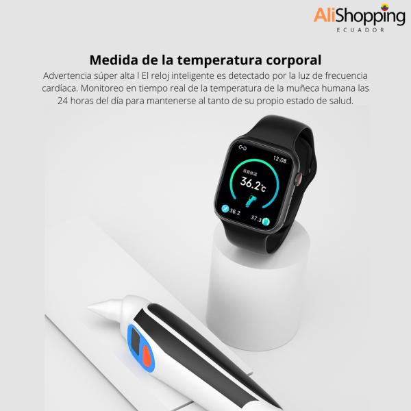 Smartwatch W78 PRO mejor clon apple watch