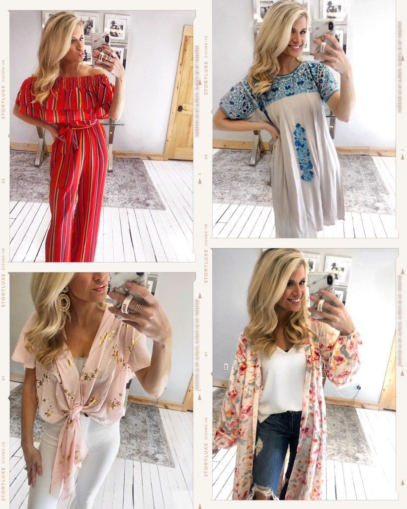 Spring Outfits (Try-On)
