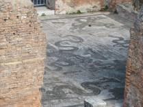 Baths mosaic