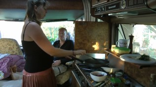 Placenta Cookery in Olive, Nomadic Village 2012