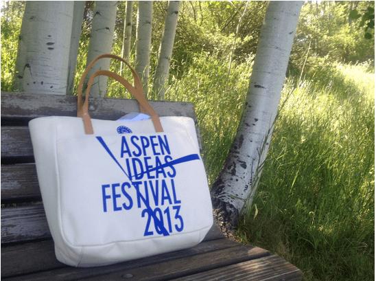some positive notes of the Aspen Ideas Festival 2013
