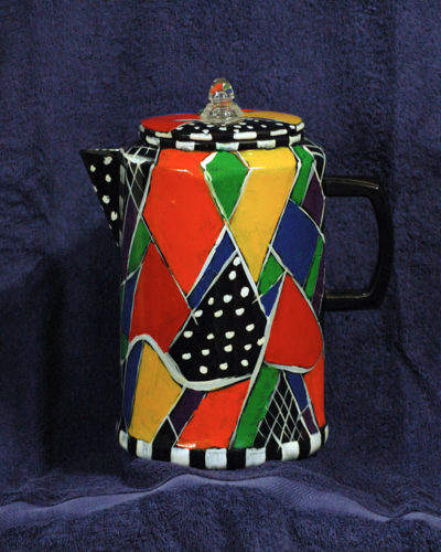 The One-of-a-kind 'Crazy Coffee Pot © Alison D. Gilbert