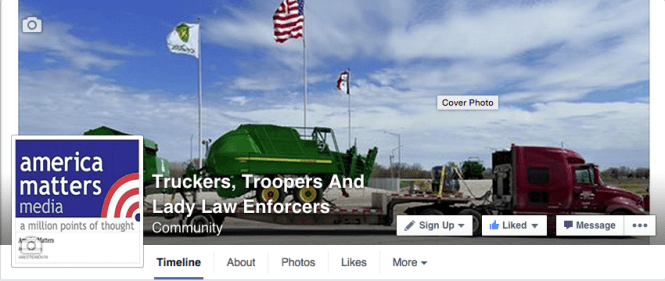 The Truckers, Troopers and Lady Law Enforcers