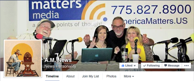 The A.M. News Facebook Page