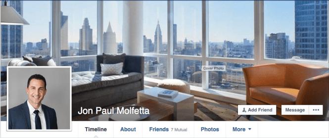 Jon Paul Molfetta's facebook page