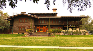 The Greene Brothers' Gamble House in Pasadena, California