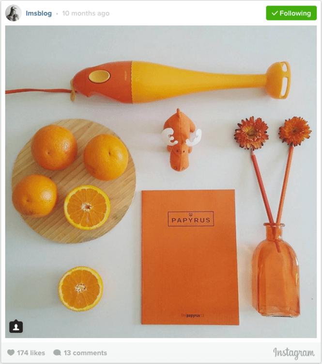 Knolling Orange