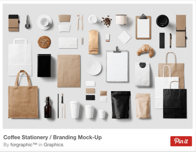 Coffee Stationery / Branding Mock-Up By forgraphic™ in Graphics