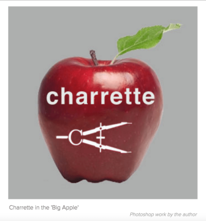 Charrette meets the 'Big Apple'