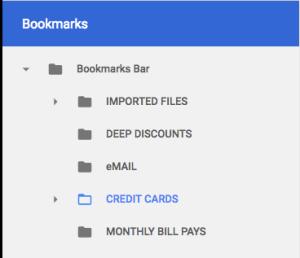 maintaining credit card accounts