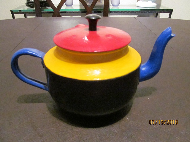 Alison's First Teapot