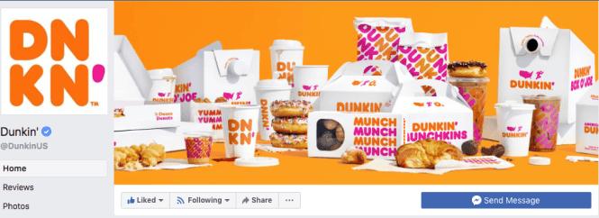 rebranding Dunkin Donuts