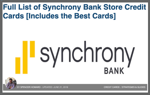 Synchrony Bank Cards