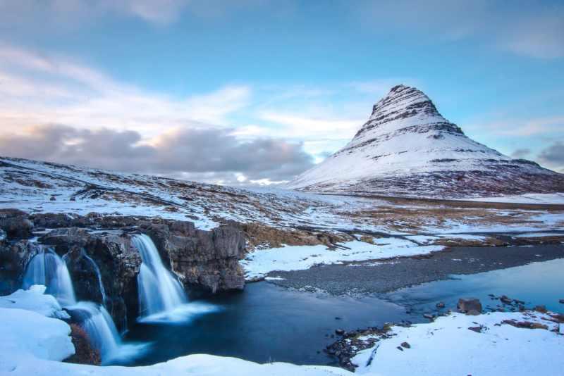 Kirkjufell Waterfall and Mountain, Iceland