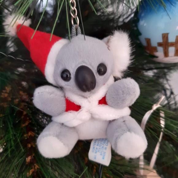 Festive koala