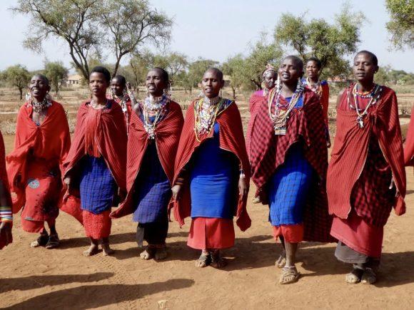 Maasai tribeswomen Kenya